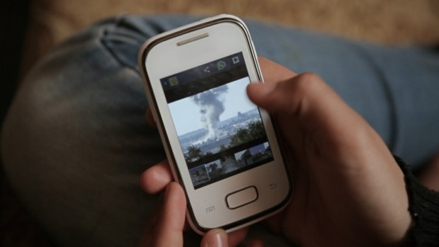 foto movil siria