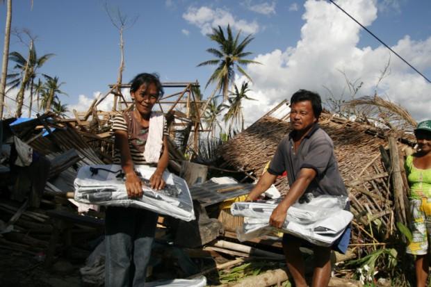 Melanie Smith InspirAction Filipinas tifon Haiyan