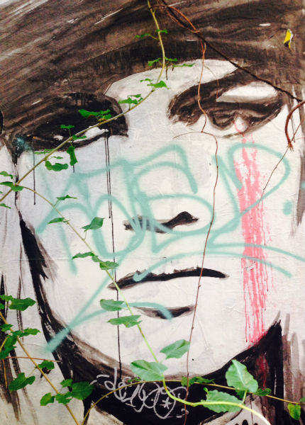 Pintada en un muro en Berlín. Imagen de Women's link Worldwide.