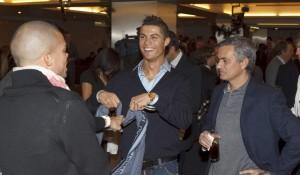 Mourinho, Cristiano y Pepe