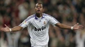 Robinho con el Real Madrid