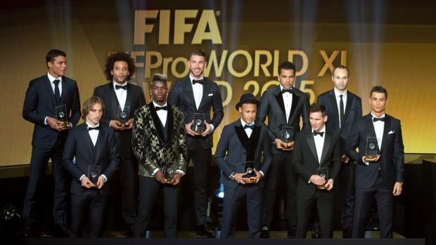 Mejor 11 de 2015 para la FIFA