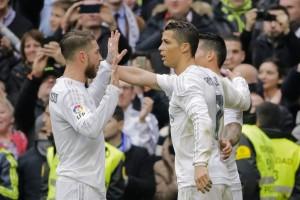 Ramos y Cristiano