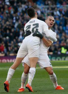 Isco y Pepe