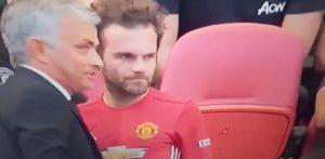 Mourinho y Mata