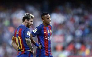 Leo Messi y Neymar, dos de los investigados por Hacienda.
