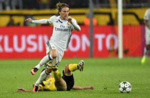 Modric ante el Borussia Dortmund