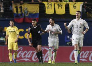 Cristiano ante el Villarreal