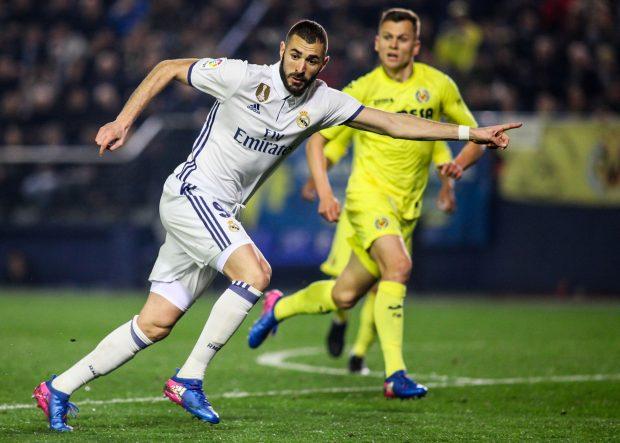 Benzema ante el Villarreal