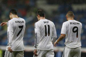 Bale, Benzema y Cristiano