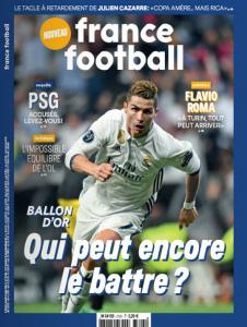 Portada de 'France Football'