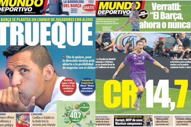 Portadas Mundo Deportivo
