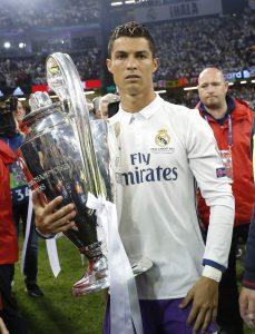 Cristiano, con la Champions