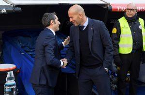 Zidane y Valverde