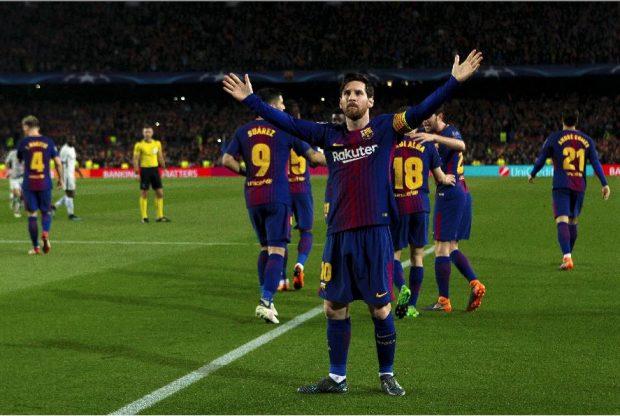 Messi, ante el Chelsea.