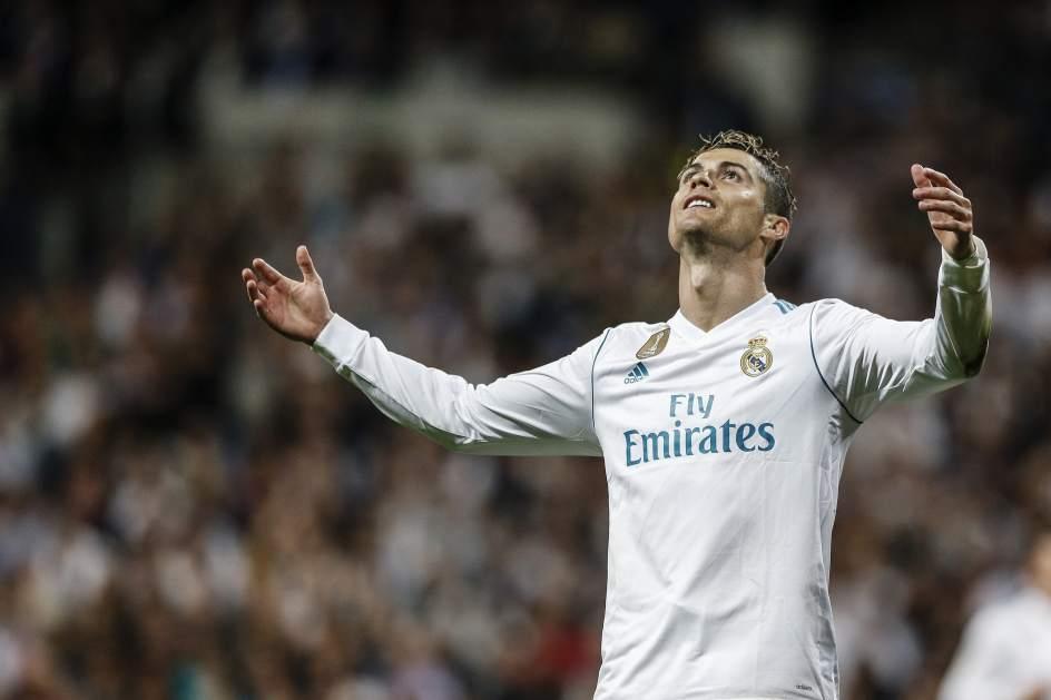 Cristiano Ronaldo se lamenta. (GTRES)