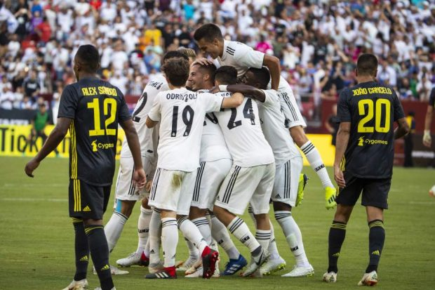 Gol del Madrid a la Juventus