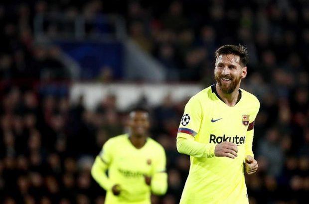 Leo Messi en un partido con el Barça. EFE