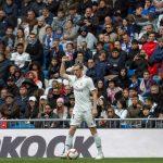 Gareth Bale, en el Bernabéu