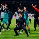 Celebración del Tottenham
