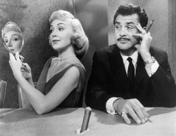 Ernie Kovacs y Edie Adams en Take a Good Look.
