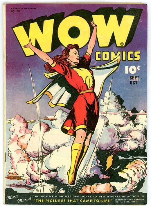 Portada de WOW Comics