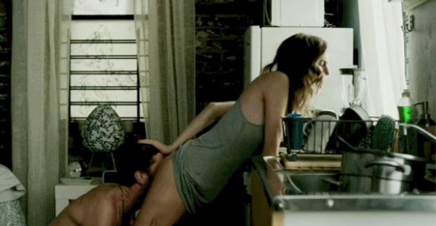 Escena sexo oral de la serie Girls