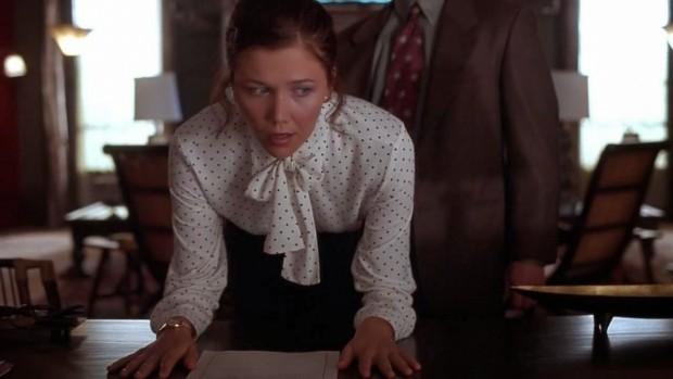 Escena de la película La Secretaria