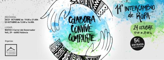 colabora, convive, comparte