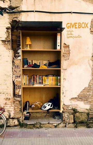 Givebox en Logroño