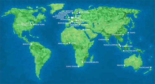 OSCEdaysWorldMap