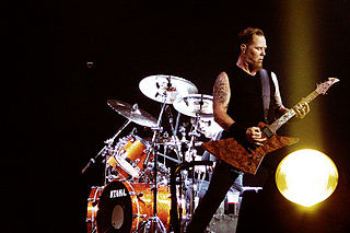 James Hetfield (Metallica). Imagen de Mark Wainwright / Wikipedia.