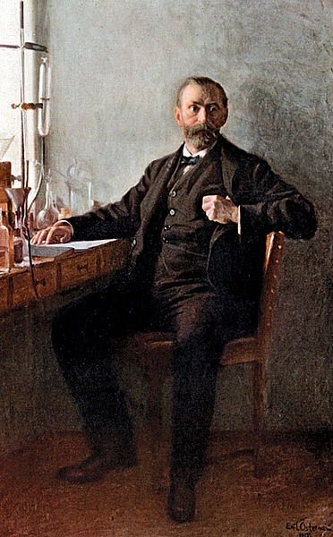 Retrato de Alfred Nobel por Emil Österman. Imagen de Wikipedia.