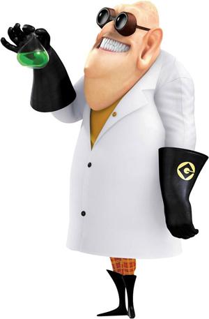 El Doctor Nefario, el científico loco de 'Gru'. Imagen de Universal Pictures.