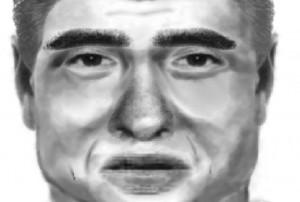 Retrato robot del asesino de Eva Blanco. Imagen de Guardia Civil.