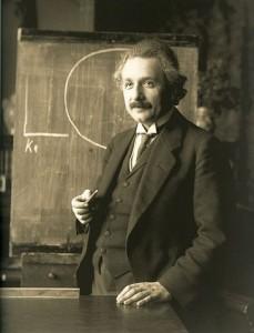 Albert Einstein en 1921. Imagen de F. Schmutzer / Wikipedia.