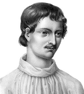 Retrato de Giordano Bruno (1548-1600). Imagen de Wikipedia.