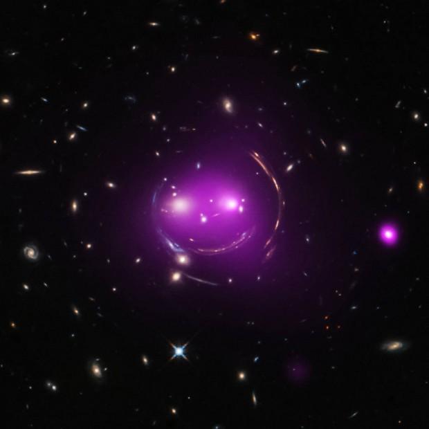 Grupo de galaxias Cheshire Cat. Imagen de NASA/CXC/UA/J.Irwin et al/STScI.