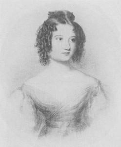 Ada Lovelace (por entonces aún Ada Byron) a los 17 años, en un retrato de autor desconocido. Imagen de Wikipedia.