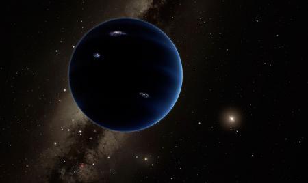Ilustración tentativa del hipotético Planeta Nueve. Imagen de Caltech/R. Hurt (IPAC).
