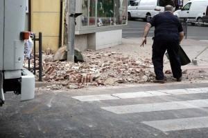 Efectos del terremoto en Melilla. Imagen de Francisco García Guerrero / EFE.