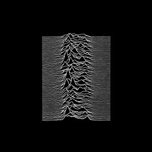 Portada del álbum Unknown Pleasures de Joy Division (1979).