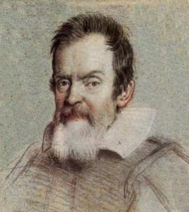 Galileo Galilei en 1624, por Ottavio Leoni. Imagen de Wikipedia.