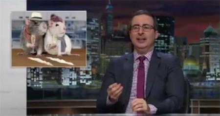 John Oliver. Imagen de YouTube.