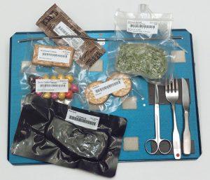 Comida de la Estación Espacial Internacional. Imagen de Wikipedia.