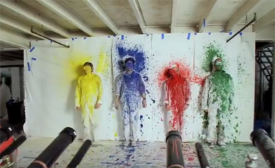 Captura del vídeo de OK Go. Imagen de YouTube.