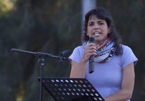 Teresa Rodríguez, secretaria general de Podemos en Andalucía y epidemióloga. Imagen de Wikipedia.