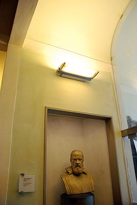 Busto de Galileo Galilei en el Museo Galileo de Florencia. Imagen de J. Y.