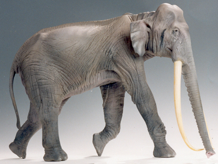 Recreación del 'Paleoloxodon antiquus'. Imagen de Wikipedia.
