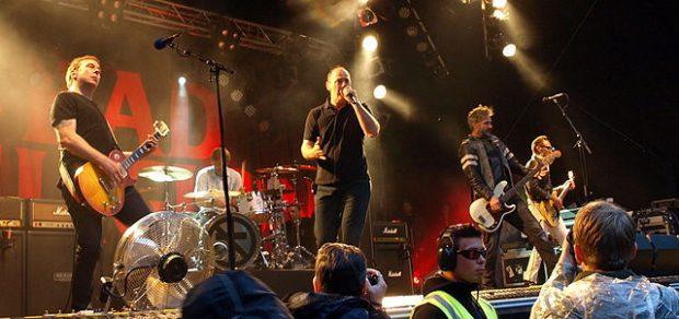 Bad Religion tocando en 2013 en Finlandia. Imagen de Wikipedia.